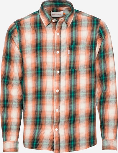 Revolution Shirt in Emerald / Orange / Black / White, Item view