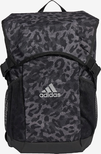 ADIDAS PERFORMANCE Sportryggsäck i grå / grafit / mörkgrå / svart / vit, Produktvy
