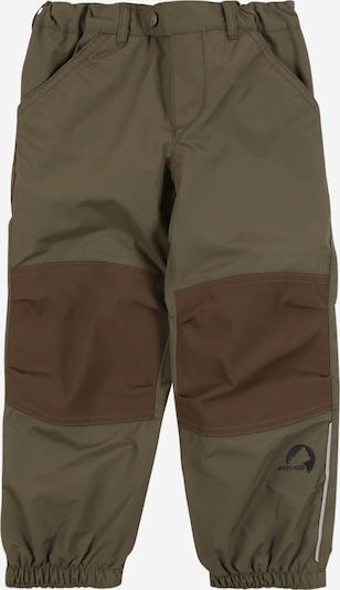 FINKID Pantalon 'HUIMA' en marron / kaki, Vue avec produit