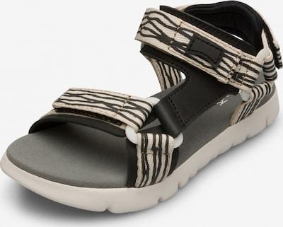 CAMPER Sandalen 'Oruga' in de kleur Beige / Zwart, Productweergave