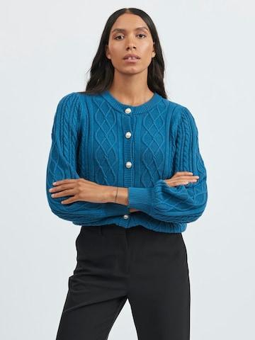 VILA Kardigan w kolorze niebieski