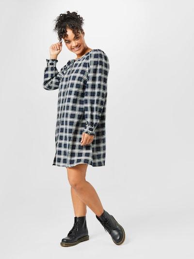 Zizzi Košilové šaty 'HARMONY' - námořnická modř / černá, Model/ka