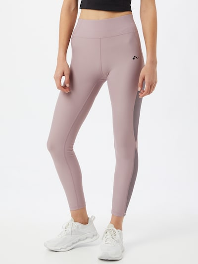 ONLY PLAY Sporthose 'MING' in grau / mauve: Frontalansicht