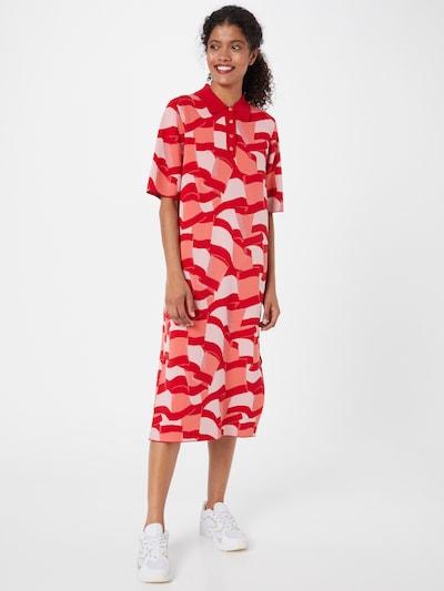 TOMMY HILFIGER Šaty - broskvová / červená / bílá, Model/ka