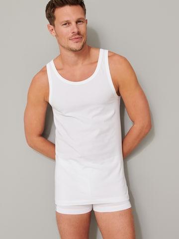 Maglietta intima di SCHIESSER in bianco