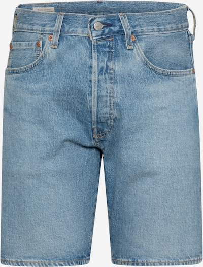 LEVI'S Jeans '501® Hemmed' i blå denim, Produktvy