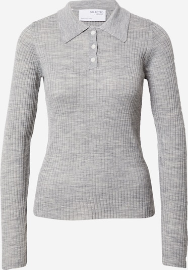 SELECTED FEMME Shirt 'COSTA' in grau, Produktansicht