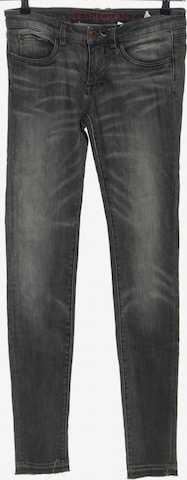 Tribeca New York Röhrenjeans in 27-28 x 34 in Grau