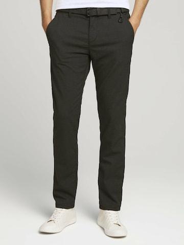 TOM TAILOR DENIM Chino-püksid, värv must