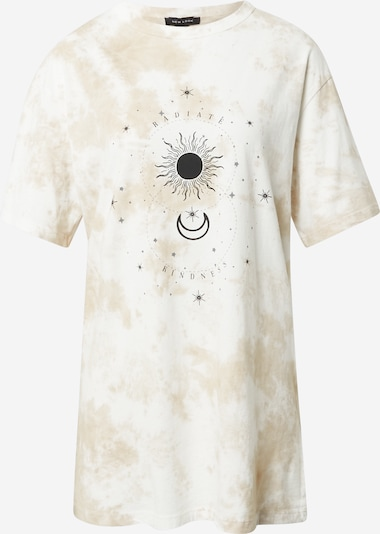 NEW LOOK Tričko 'MYSTIC' - hnědá / černá / bílá, Produkt