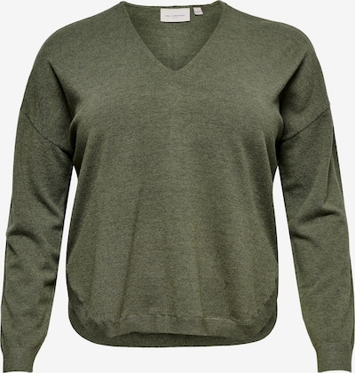 ONLY Carmakoma Pullover 'Сosi' in oliv, Produktansicht