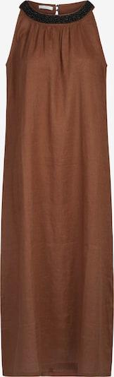 mint & mia Kleid mit Perlen in gerader, weiter Form in braun, Produktansicht