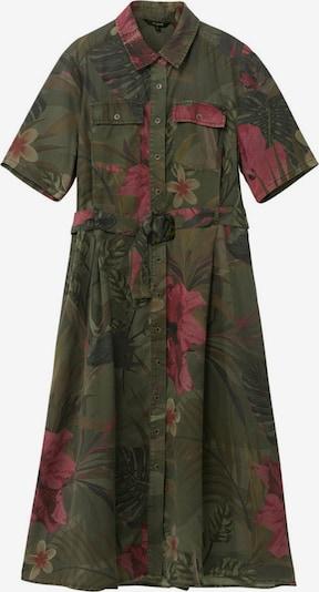 Desigual Robe-chemise 'ANGELA' en vert / mélange de couleurs, Vue avec produit
