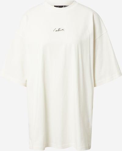 The Couture Club T-Shirt in grau / offwhite, Produktansicht