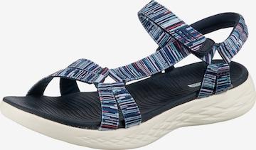 SKECHERS Sandale 'On-the-Go 600' in Blau