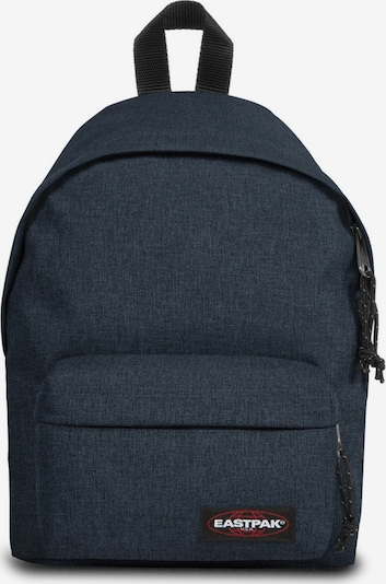 EASTPAK Sac à dos 'ORBIT' en bleu denim, Vue avec produit