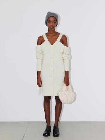 LeGer by Lena Gercke Gebreide jurk 'Melissa' in Wit