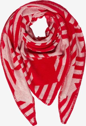 STREET ONE Schal mit Grafik-Print in rot, Produktansicht