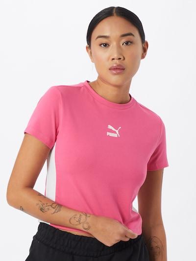 PUMA Shirt in hellpink / weiß, Modelansicht