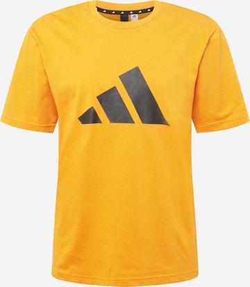 T-Shirt fonctionnel ADIDAS PERFORMANCE en orange
