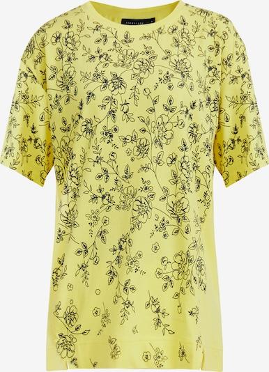 Finn Flare Kurzarmshirt in gelb / schwarz, Produktansicht