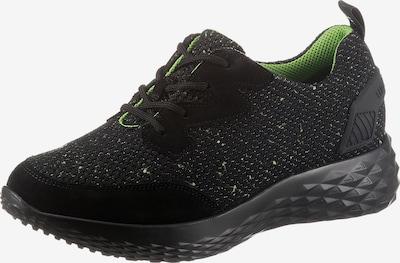 WALDLÄUFER Sneaker in neongrün / schwarz, Produktansicht
