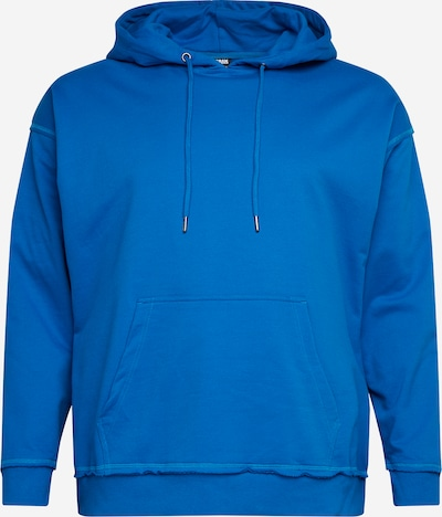 Urban Classics Big & Tall Sweatshirt in Blue: Frontal view