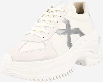 BRONX Niske tenisice 'CHAINY' u siva / prljavo bijela / bijela, Pregled proizvoda