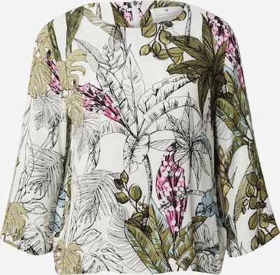 LIEBLINGSSTÜCK Bluse 'Enie' in grün / mischfarben / weiß, Produktansicht