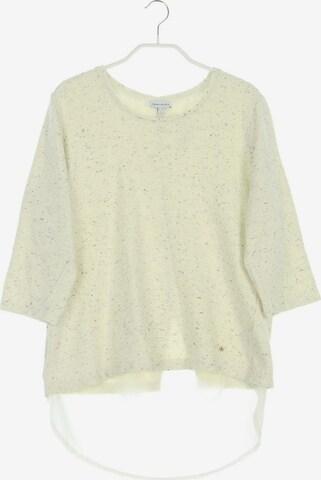 Gina Laura Sweatshirt & Zip-Up Hoodie in L-XL in White