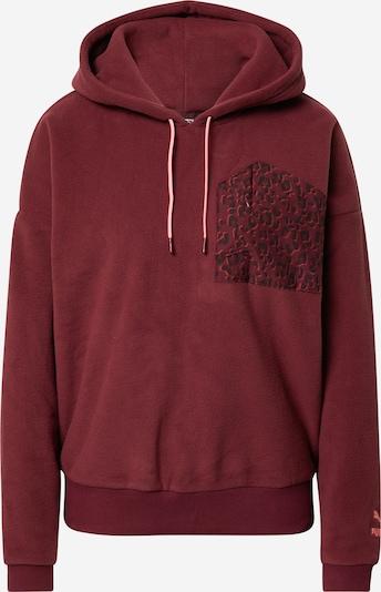PUMA Sweatshirt in weinrot, Produktansicht