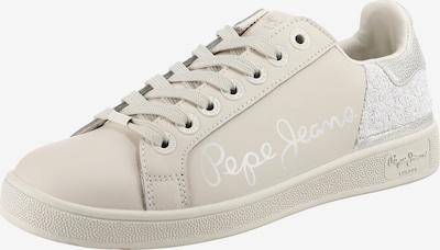 Sneaker low 'Brompton Fun' Pepe Jeans pe argintiu / alb natural, Vizualizare produs