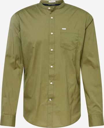 Pepe Jeans Triiksärk 'KEVIN', värv roheline