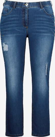 Ulla Popken Jeans 'Mia' in de kleur Blauw denim, Productweergave