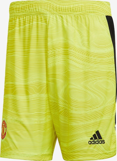 ADIDAS PERFORMANCE Sporthose in gelb, Produktansicht