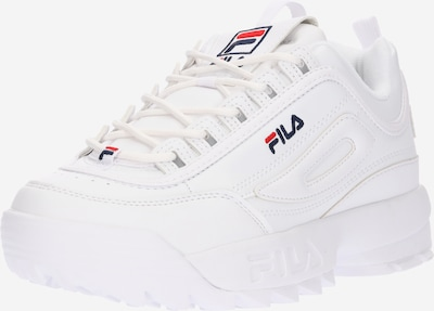 FILA Baskets basses 'Disruptor' en bleu marine / rouge / blanc, Vue avec produit