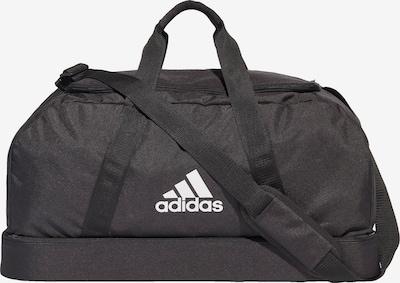 ADIDAS PERFORMANCE Sporttasche 'Tiro' in schwarz / weiß, Produktansicht