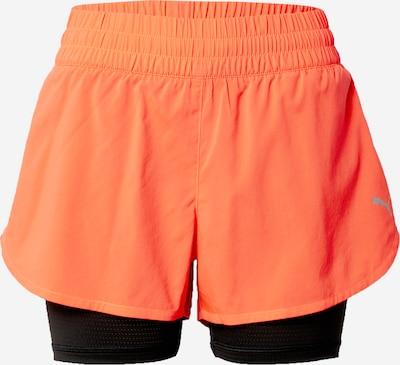 PUMA Pantalon de sport en saumon / noir, Vue avec produit