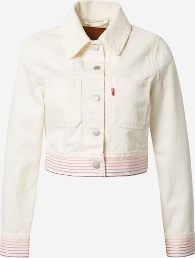 LEVI'S Přechodná bunda - bílá džínovina, Produkt