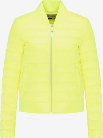 myMo ATHLSR Athletic Jacket in Yellow