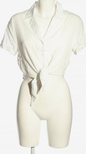 24COLOURS Kurzarm-Bluse in S in wollweiß, Produktansicht