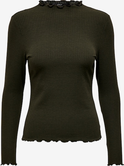 ONLY Shirt 'Emma' in oliv, Produktansicht