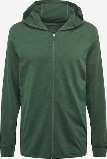 NIKE Trainingsjack in de kleur Groen gemêleerd, Productweergave