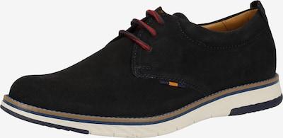 FRETZ MEN Chaussure de sport à lacets en bleu, Vue avec produit