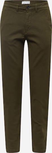 SELECTED HOMME Lærredsbukser i mørkegrøn, Produktvisning