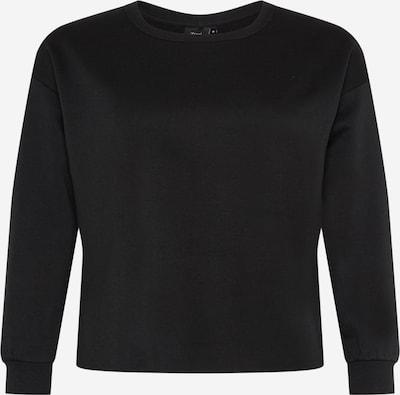 Zizzi Sweatshirt in Black, Item view