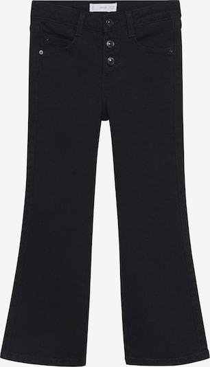 Jeans MANGO KIDS pe negru denim, Vizualizare produs