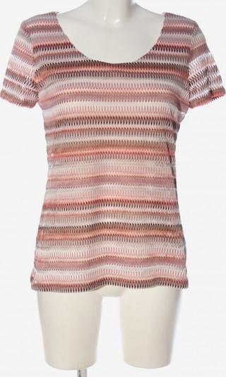 S.OLIVER PREMIUM Blusenshirt in L in braun / pink / wollweiß, Produktansicht