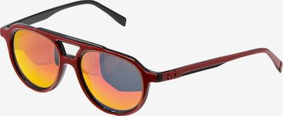 Sergio Tacchini Sportzonnebril 'Eyewear Archivio' in de kleur Gemengde kleuren / Rood / Zwart, Productweergave