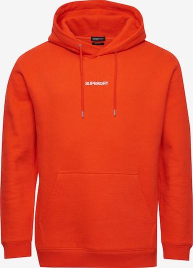 Superdry Sweatshirt 'Kastig' in orange, Produktansicht